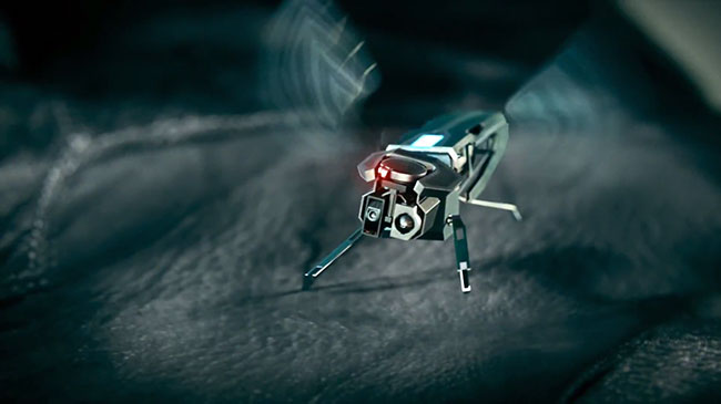 intelligent spy robot ppt