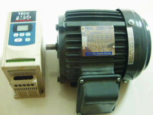 three phase motor speed control