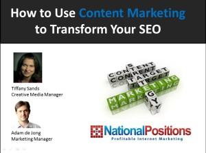 content marketing ppt
