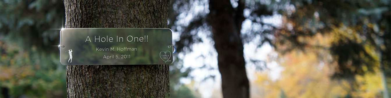 memorial tree tags ppt