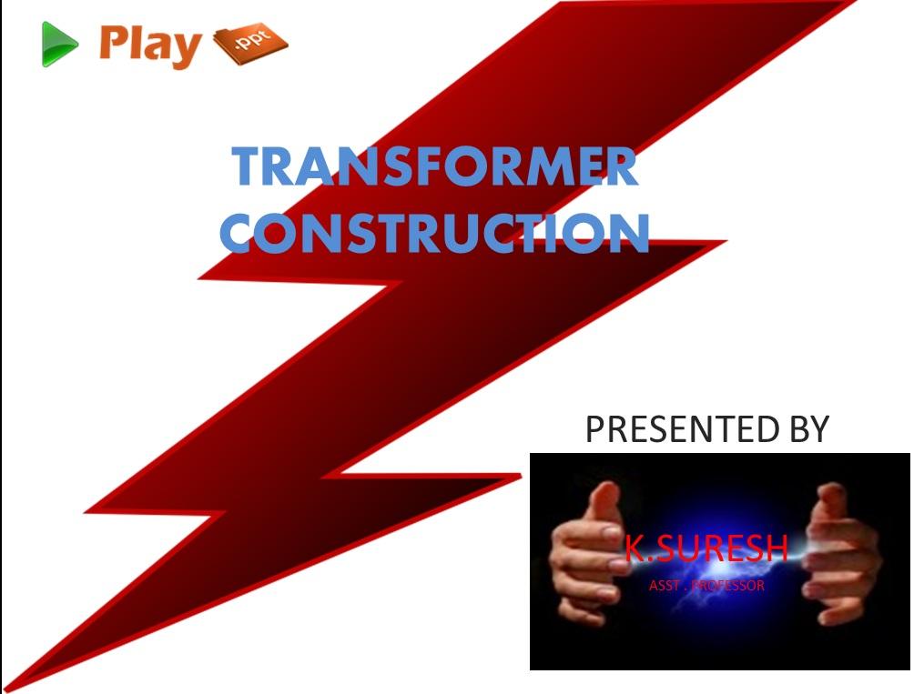 transformer construction ppt