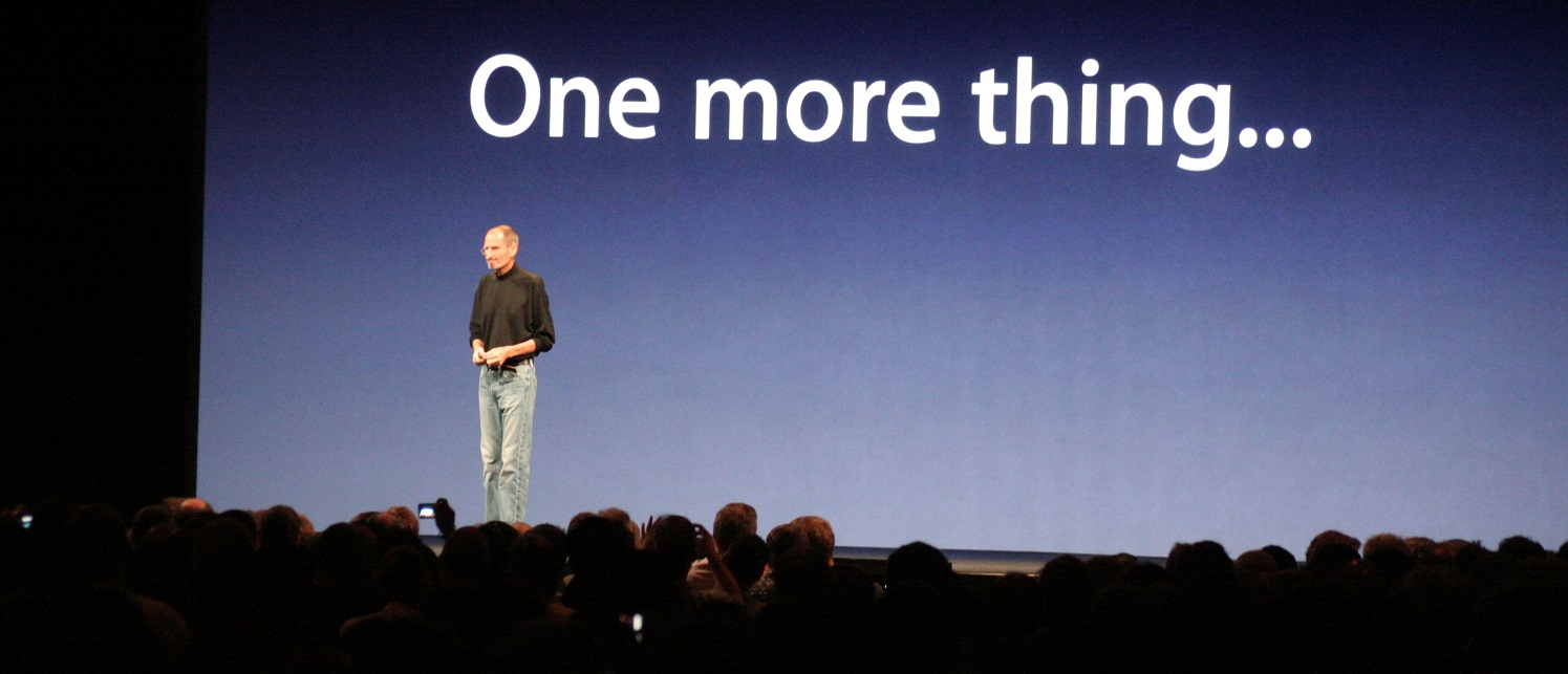apple one more thing ppt