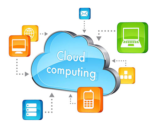 Cloud computing shapes for powerpoint presentations, download now.