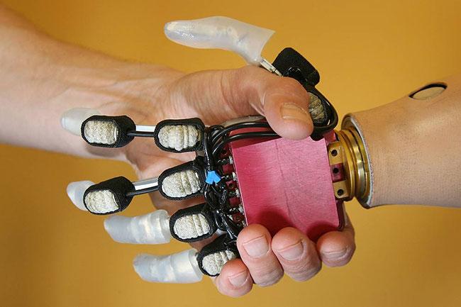 bio mechatronic hand ppt